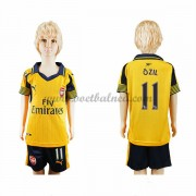 Voetbaltenue Kind Arsenal 2016-17 Ozil 11 Uitshirt..