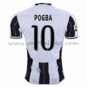 Voetbalshirts Clubs Juventus 2016-17 Pogba 10 Thuisshirt..