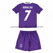 Voetbaltenue Kind Real Madrid 2016-17 Ronaldo 7 Uitshirt..