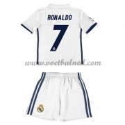 Voetbaltenue Kind Real Madrid 2016-17 Ronaldo 7 Thuisshirt..