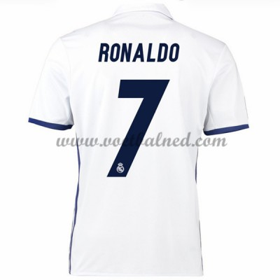 Voetbalshirts Clubs Real Madrid 2016-17 Ronaldo 7 Thuisshirt