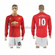 Voetbalshirts Clubs Manchester United 2016-17 Rooney 10 Thuisshirt Lange Mouw..