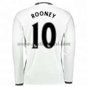 Voetbalshirts Clubs Manchester United 2016-17 Rooney 10 Third Shirt Lange Mouw..