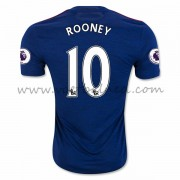 Voetbalshirts Clubs Manchester United 2016-17 Rooney 10 Uitshirt..