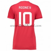 Goedkope Voetbalshirts Dames Manchester United 2016-17 Rooney 10 Thuisshirt..