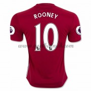 Voetbalshirts Clubs Manchester United 2016-17 Rooney 10 Thuisshirt..