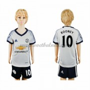 Voetbaltenue Kind Manchester United 2016-17 Rooney 10 Third Shirt..