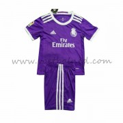 Voetbaltenue Kind Real Madrid 2016-17 Uitshirt..