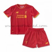 Voetbaltenue Kind Liverpool 2016-17 Thuisshirt..