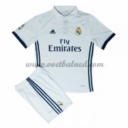 Voetbaltenue Kind Real Madrid 2016-17 Thuisshirt..