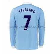 Voetbalshirts Clubs Manchester City 2016-17 Sterling 7 Thuisshirt Lange Mouw..
