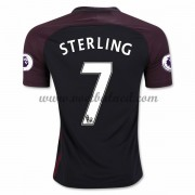 Voetbalshirts Clubs Manchester City 2016-17 Sterling 7 Uitshirt..