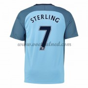 Voetbalshirts Clubs Manchester City 2016-17 Sterling 7 Thuisshirt..