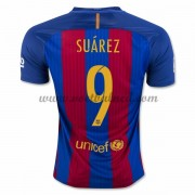 Voetbalshirts Clubs Barcelona 2016-17 Suarez 9 Thuisshirt..