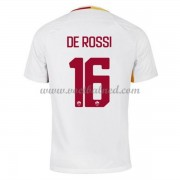 Voetbalshirts Clubs AS Roma 2017-18 De Rossi 16 Uitshirt..