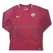 Voetbalshirts Clubs AS Roma 2017-18 Thuisshirt Lange Mouw..