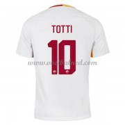 Voetbalshirts Clubs AS Roma 2017-18 Totti 10 Uitshirt..
