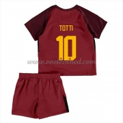 Voetbaltenue Kind AS Roma 2017-18 Totti 10 Thuisshirt..