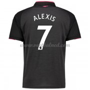 Voetbalshirts Clubs Arsenal 2017-18 Alexis Sanchez 7 Third Shirt..