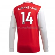 Voetbalshirts Clubs Arsenal 2019-20 Pierre Aubameyang 14 Thuisshirt Lange Mouw..