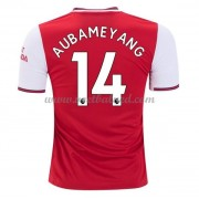 Voetbalshirts Clubs Arsenal 2019-20 Pierre Aubameyang 14 Thuisshirt..