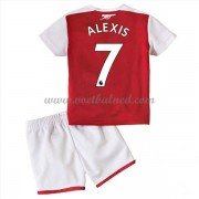 Voetbaltenue Kind Arsenal 2017-18 Alexis Sanchez 7 Thuisshirt..