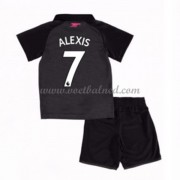 Voetbaltenue Kind Arsenal 2017-18 Alexis Sanchez 7 Third Shirt..