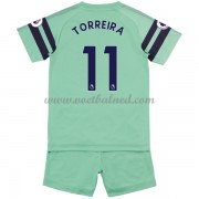 Voetbaltenue Kind Arsenal 2018-19 Lucas Torreira 11 Third Shirt..