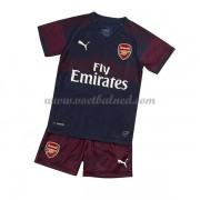 Voetbaltenue Kind Arsenal 2018-19 Uitshirt..