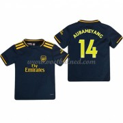 Voetbaltenue Kind Arsenal 2019-20 Pierre Aubameyang 14 Third Shirt