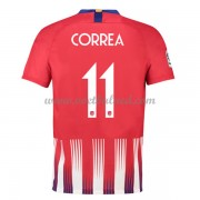 Voetbalshirts Clubs Atletico Madrid 2018-19 Angel Correa 11 Thuisshirt