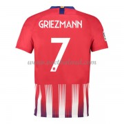 Voetbalshirts Clubs Atletico Madrid 2018-19 Antoine Griezmann 7 Thuisshirt