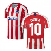 Voetbalshirts Clubs Atletico Madrid 2019-20 Angel Correa 10 Thuisshirt