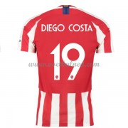 Voetbalshirts Clubs Atletico Madrid 2019-20 Diego Costa 19 Thuisshirt