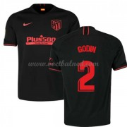 Voetbalshirts Clubs Atletico Madrid 2019-20 Diego Godin 2 Uitshirt