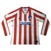 Voetbalshirts Clubs Atletico Madrid 2019-20 Thuisshirt Lange Mouw