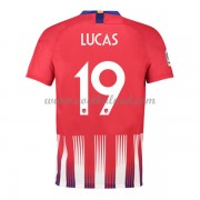 Voetbalshirts Clubs Atletico Madrid 2019-20 Lucas Hernandez 21 Thuisshirt