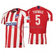 Voetbalshirts Clubs Atletico Madrid 2019-20 Thomas Partey 5 Thuisshirt