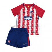 Voetbaltenue Kind Atletico Madrid 2017-18 Thuisshirt
