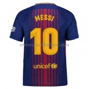 Voetbalshirts Clubs Barcelona 2017-18 Lionel Messi 10 Thuisshirt..