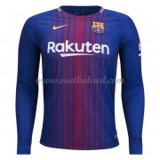Voetbalshirts Clubs Barcelona 2017-18 Thuisshirt Lange Mouw