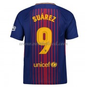 Voetbalshirts Clubs Barcelona 2017-18 Luis Suarez 9 Thuisshirt..