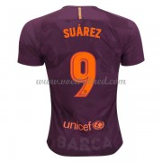 Voetbalshirts Clubs Barcelona 2017-18 Luis Suarez 9 Third Shirt..