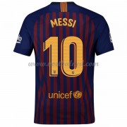 Voetbalshirts Clubs Barcelona 2018-19 Lionel Messi 10 Thuisshirt