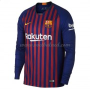 Voetbalshirts Clubs Barcelona 2018-19 Thuisshirt Lange Mouw..