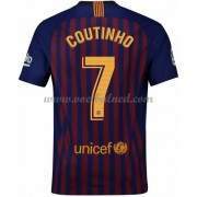 Voetbalshirts Clubs Barcelona 2018-19 Philippe Coutinho 7 Thuisshirt..