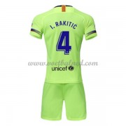 Voetbaltenue Kind Barcelona 2018-19 I. Rakitic 4 Uitshirt..