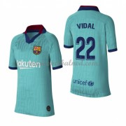 Voetbaltenue Kind Barcelona 2019-20 Arturo Vidal 23 Third Shirt..