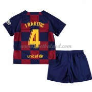 Voetbaltenue Kind Barcelona 2019-20 I. Rakitic 4 Thuisshirt..