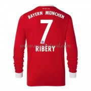 Voetbalshirts Clubs Bayern München 2017-18 Franck Ribery 7 Thuisshirt Lange Mouw..